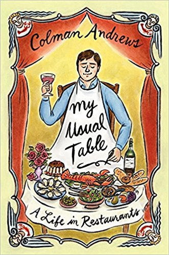 Cover of My Usual Table: A Life in Restaurants