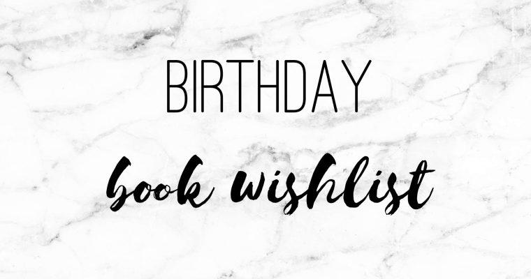 Birthday Book Wish List