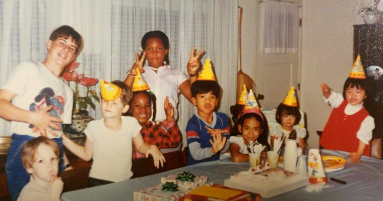 Birthday parties, cake, and a long memory