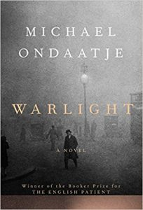 Cover of Michael Ondaatje's Warlight