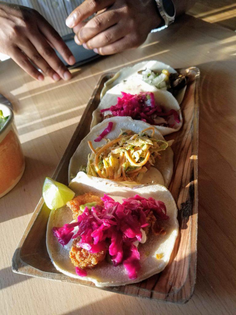 Tacos from Buena Vida in Silver Spring