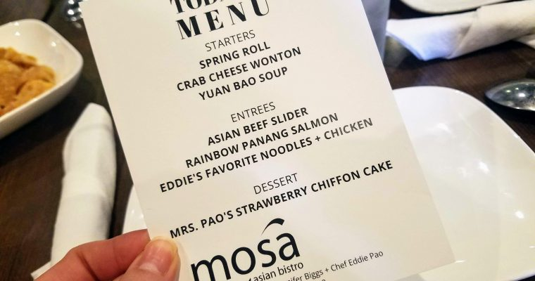 Mosa Asian Bistro