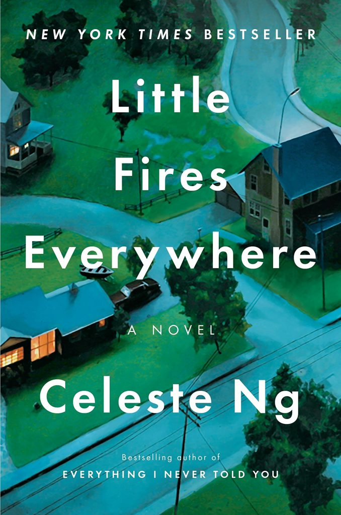 Cover of Celeste Ng's Little Fires Everywhere