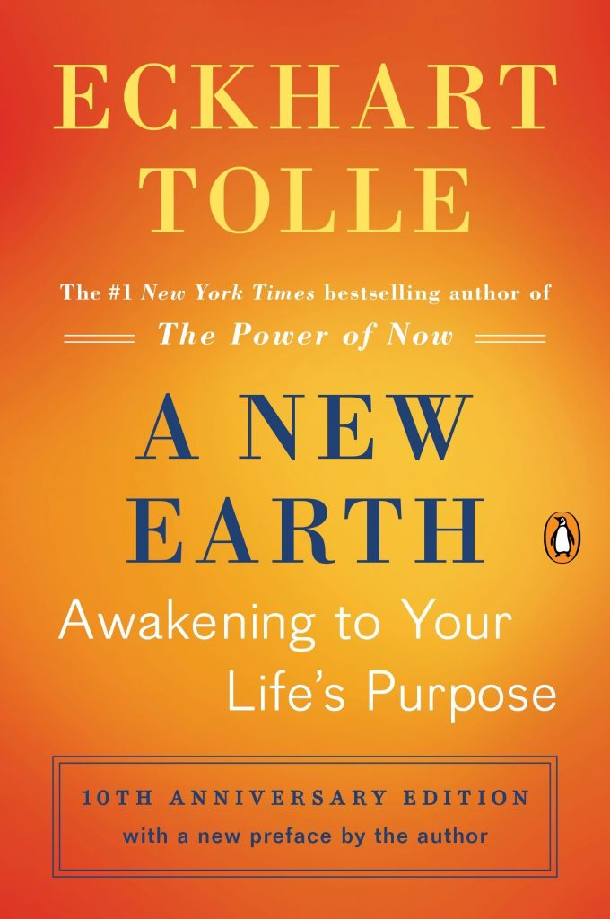 Cover of Eckhart Tolle's A New Earth